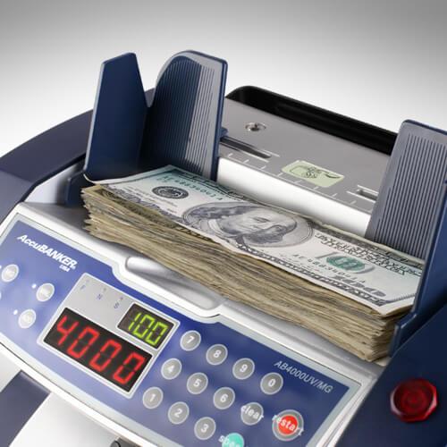 2-AccuBANKER AB 4000 UV/MG počítačka bankovek