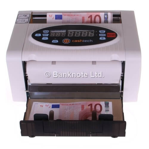 3-Cashtech 340 A UV  počítačka bankovek
