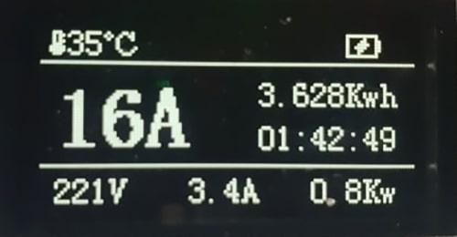 4-EV EVSE Type1 (max. 16A) EV nabíjecí