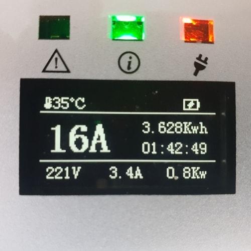 3-EV EVSE Type2 (max. 16A) EV nabíjecí